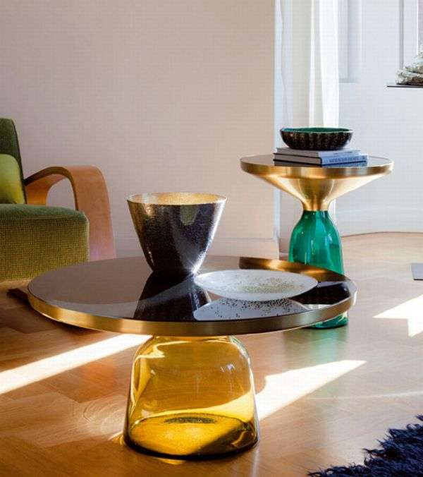 Classicon Glass Bell Tables 1