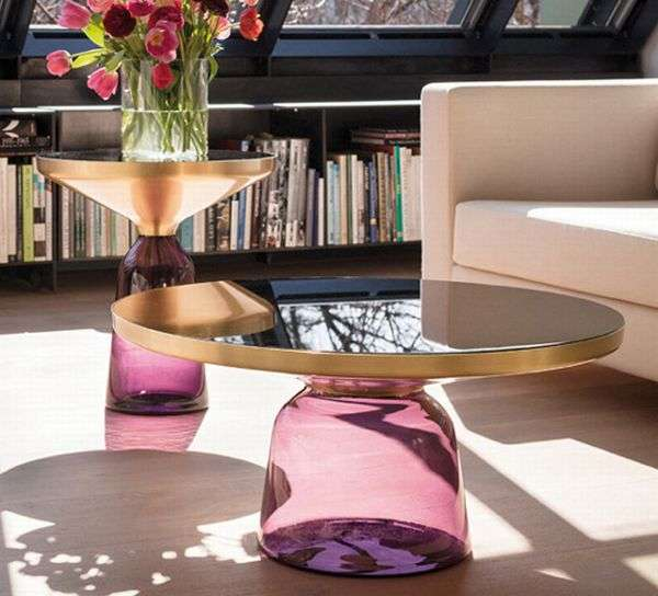 Classicon Glass Bell Tables 4