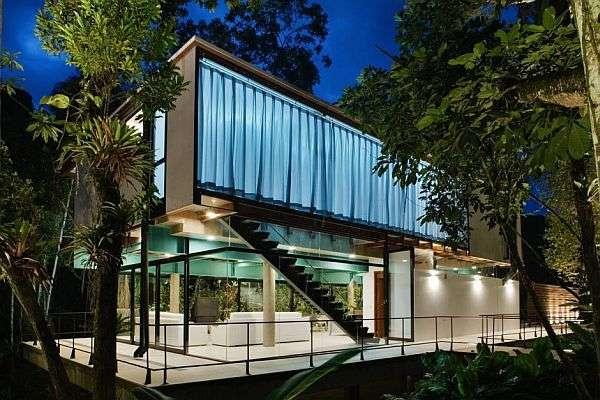 Brazil modern summer house