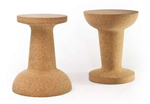 Pushpin Cork Stool by Kenyon Yeh 3