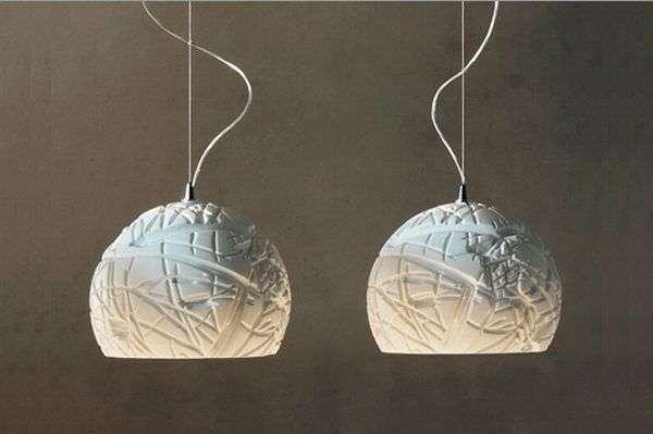 White pendant lights Artic Cattelan Italia 2