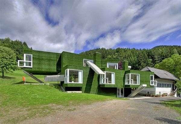 grass facade building 3