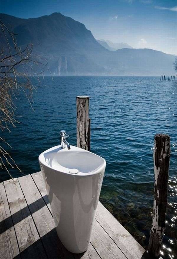 organic bathroom collection Palomba Laufen 2