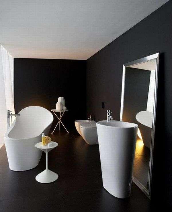 organic bathroom collection Palomba Laufen