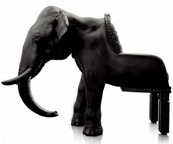 Elephant Chair by Maximo Riera 3