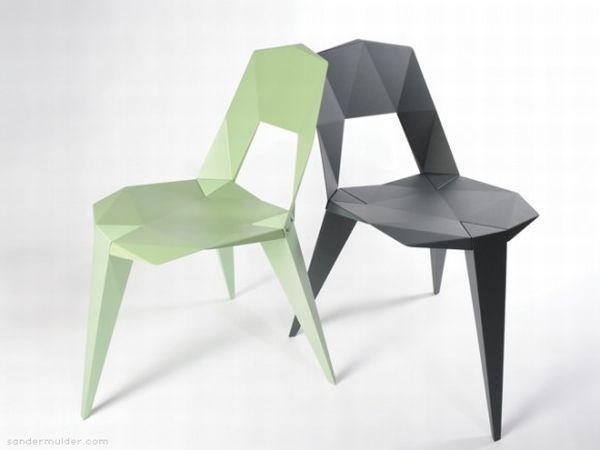 Pythagoras chairs by Sander Mulder