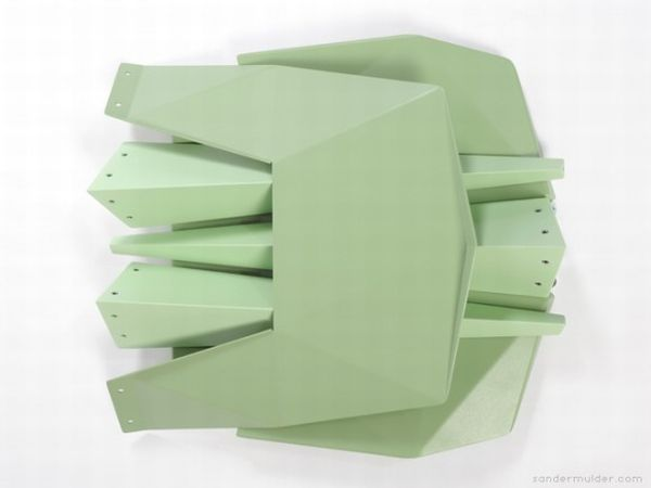 Pythagoras chairs by Sander Mulder 2