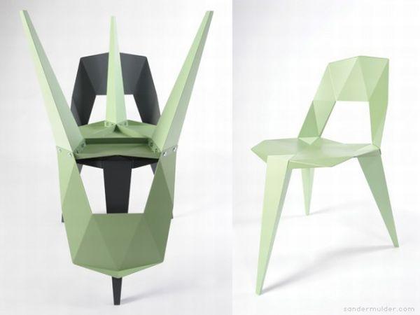 Pythagoras chairs by Sander Mulder 5