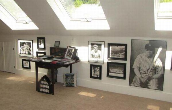 Babe Ruths Sudbury house memorabilia