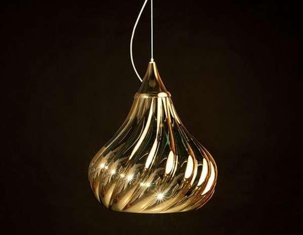 Ruskii Twist Pendant Lamps by Enrico Zanolla