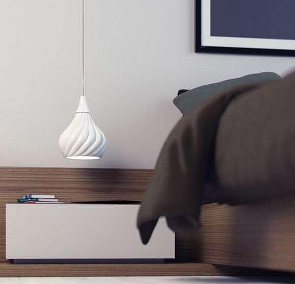 Ruskii Twist Pendant Lamps by Enrico Zanolla 2
