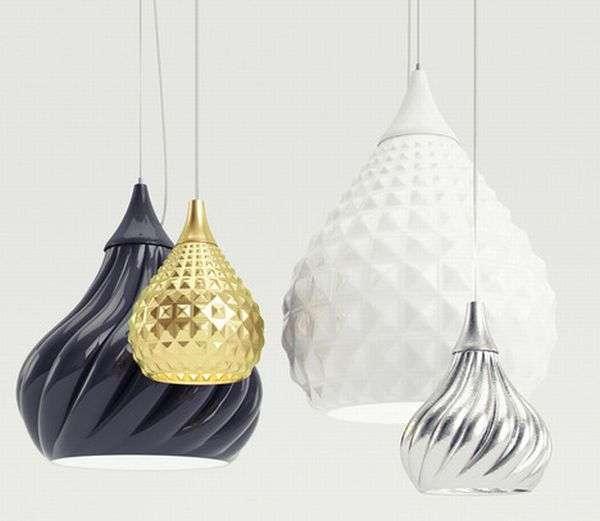 Ruskii Twist Pendant Lamps by Enrico Zanolla 4