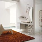 bathroom rug chair