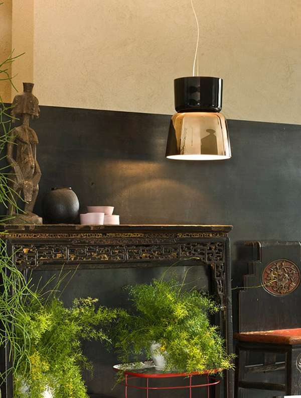 Blown glass pendant lamps Prandina 3