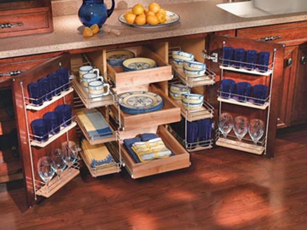 25 affordable and creative kitchen storage ideas for Cheap kitchen storage ideas