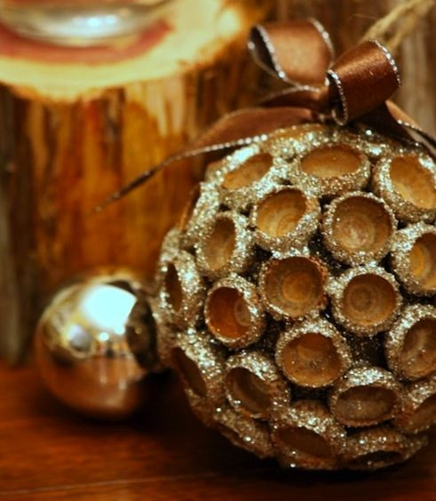 DIY Christmas Ornaments Acorn