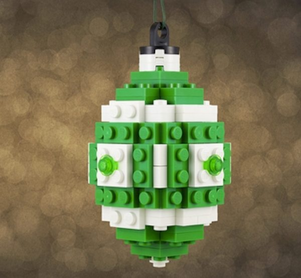 DIY Christmas Ornaments Lego Ornament
